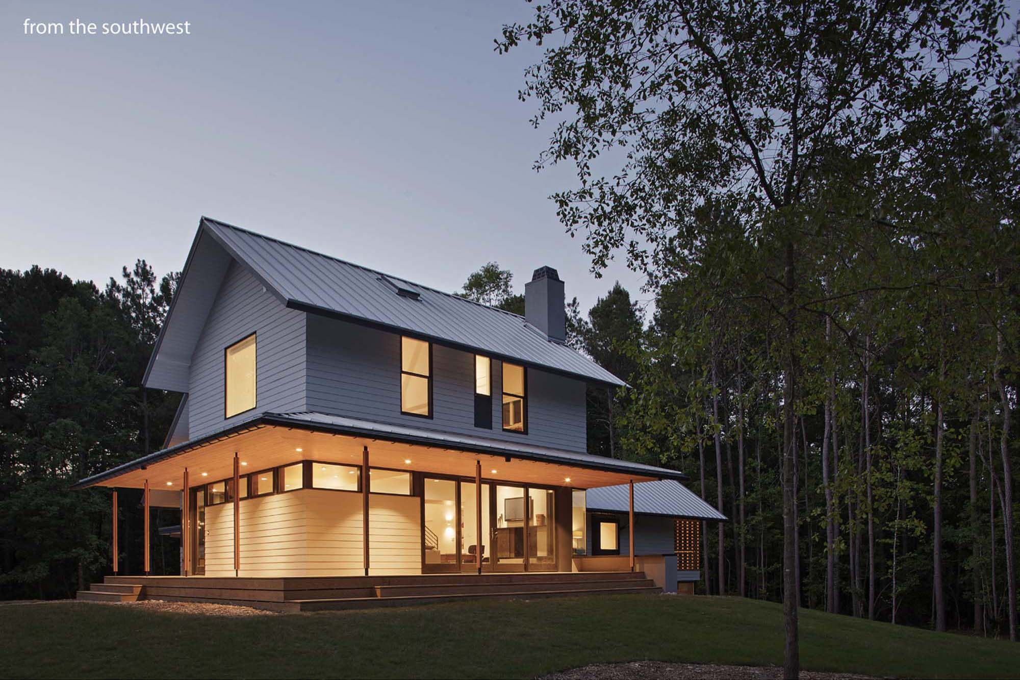 Farmhouse architect magazine in situ studio wake forest north carolina the united states - Modern home pictures ...