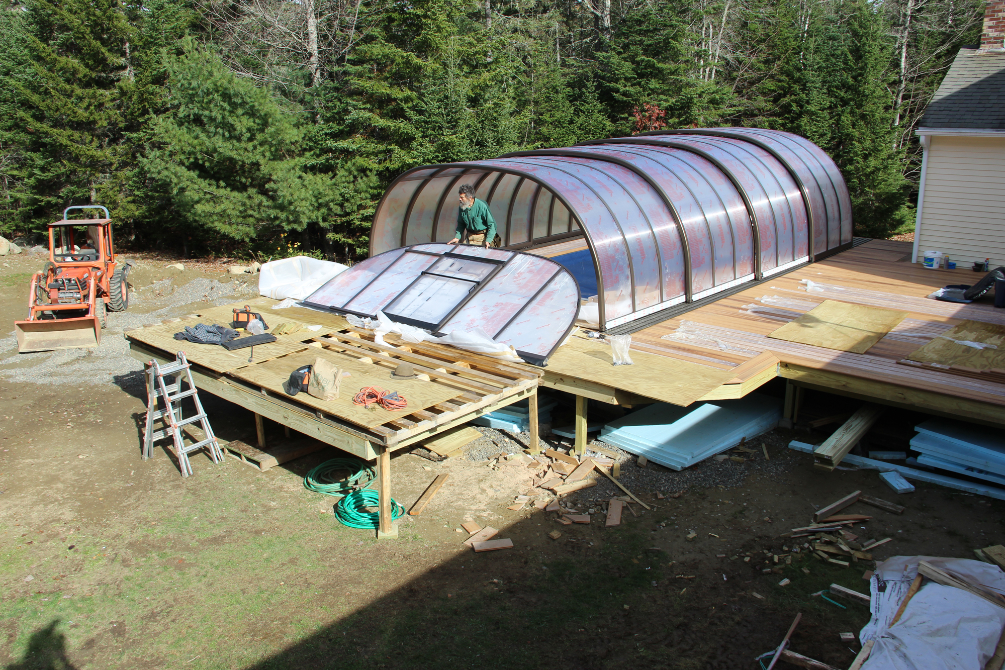 Building An Outdoor Endless Pool Professional Deck Builder