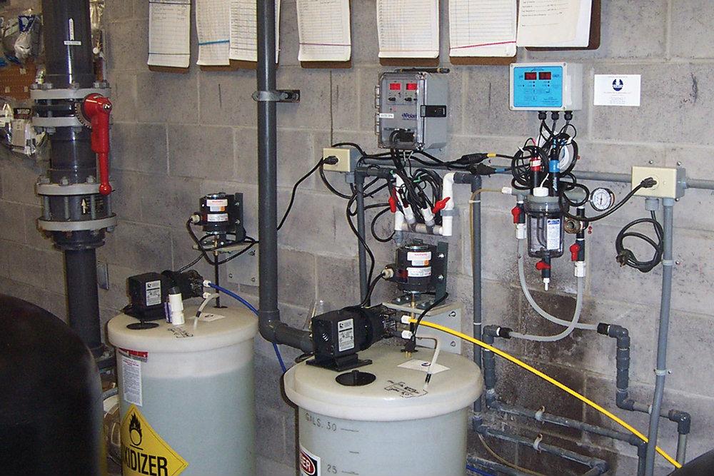 Pool Chemical Feeding Systems Aquatics International