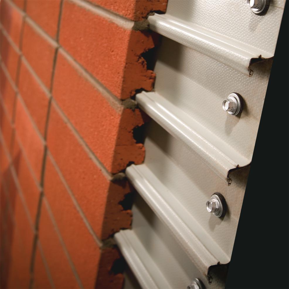Steel Backed Brick Cladding Systemmasonry Construction