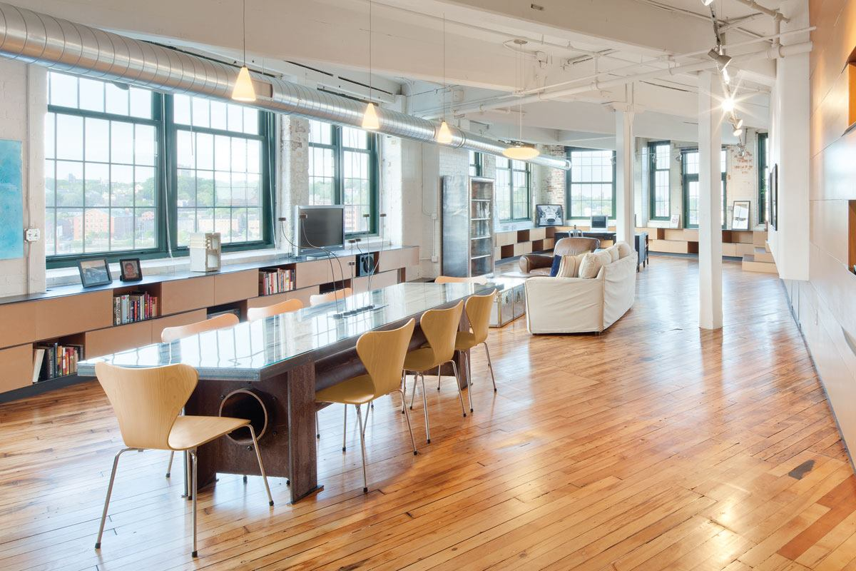 High Quality Double Loft In Providence, R.I., By 3six0 Architecture | Residential  Architect | Projects, Loft, Interiors, Boston Cambridge Quincy, MA NH, ... Design