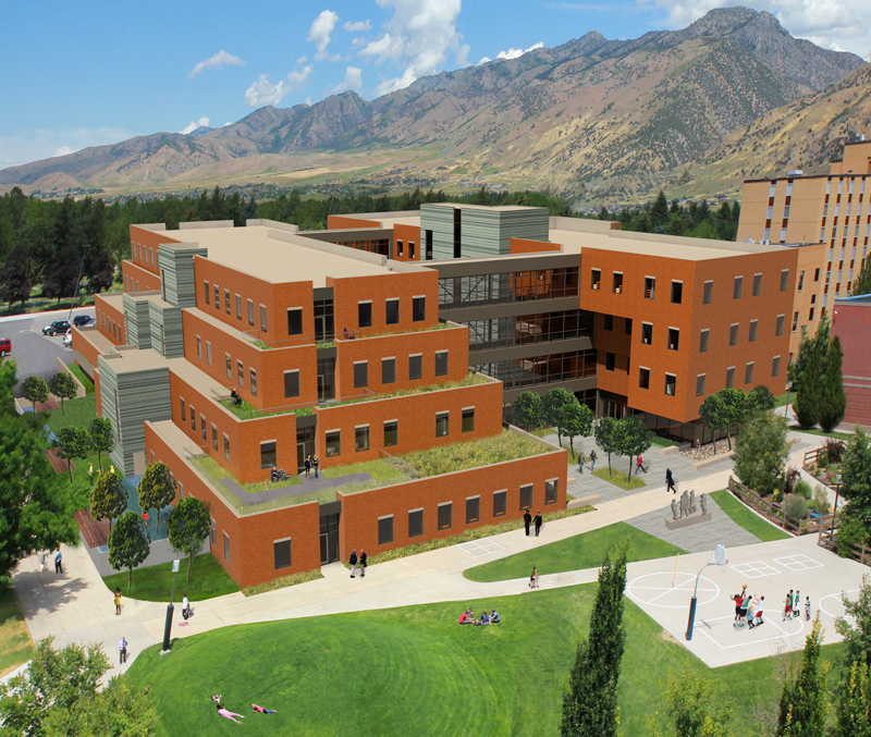 Utah Home Design Architects: Clinical Services Building, Utah State University