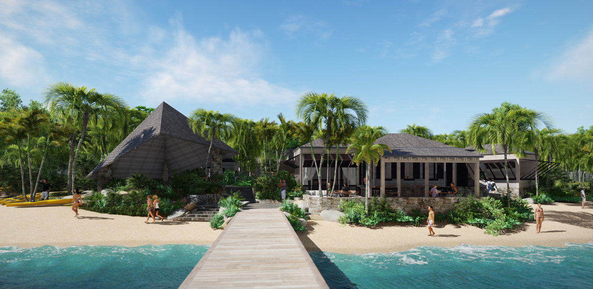 Rosewood Little Dix Bay Beach Grill Architect Magazine