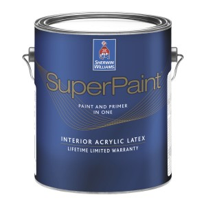 Sherwin Williams Superpaint Offers Enhanced Hide