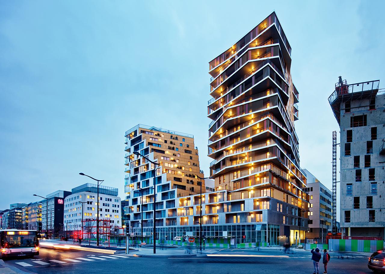 Bâtiment Home | Architect Magazine | Hamonic+Masson ...
