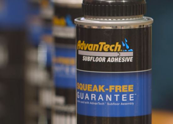 Huber S Take On Subfloor Adhesive And Thick Insulated