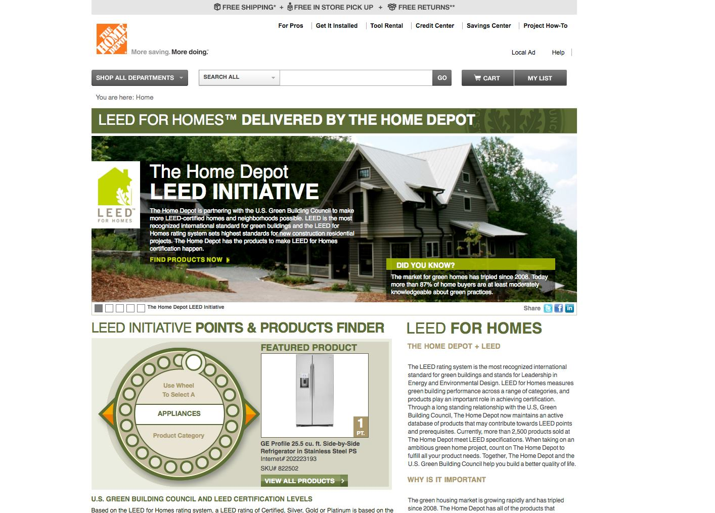 the home depot environmental scan About home depot• largest retail home improvementstore in the – home depot has transformed its supply chain– 24 rapid deployment centers• environmental:.