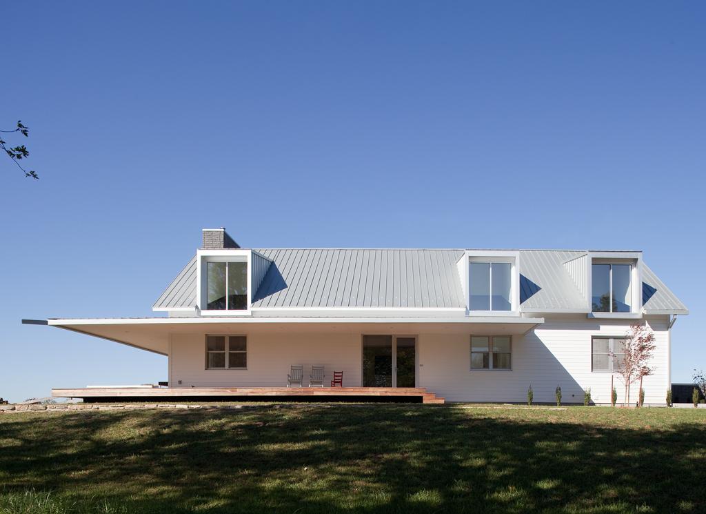 Porch House Architect Magazine Hufft Springfield Mo