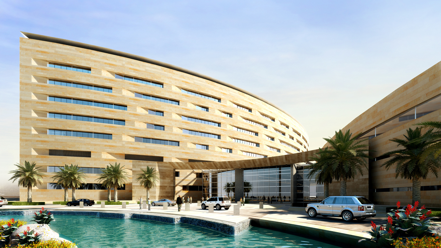 Zayed military hospital architect magazine leo a daly for Hispano international decor abu dhabi