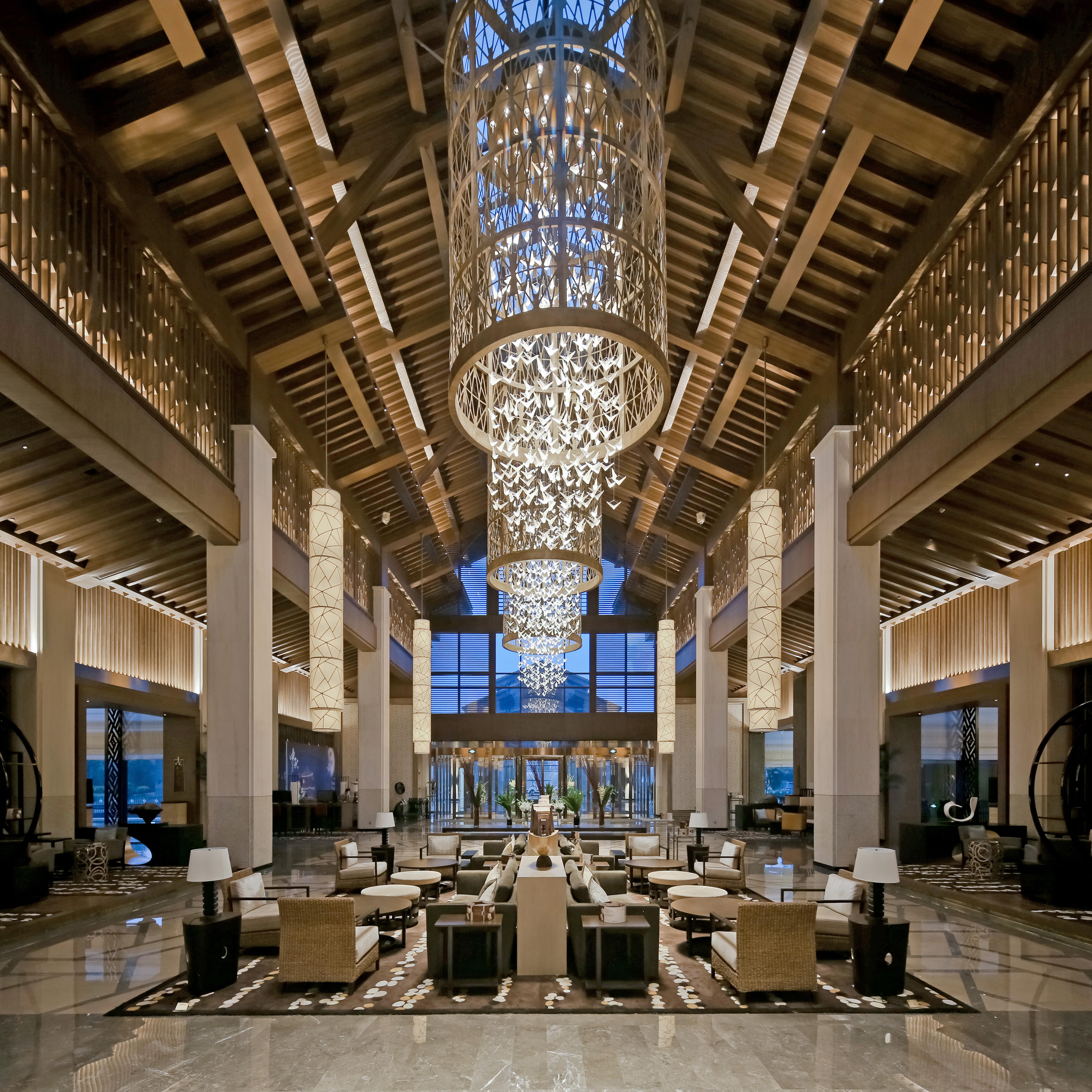 Hilton Wuhan Optics Vally Resorts Architect Magazine