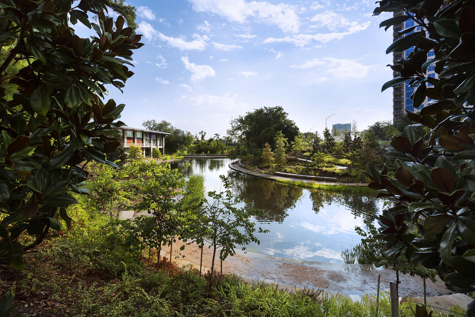Buffalo Bayou Park Architect Magazine Page Swa Group