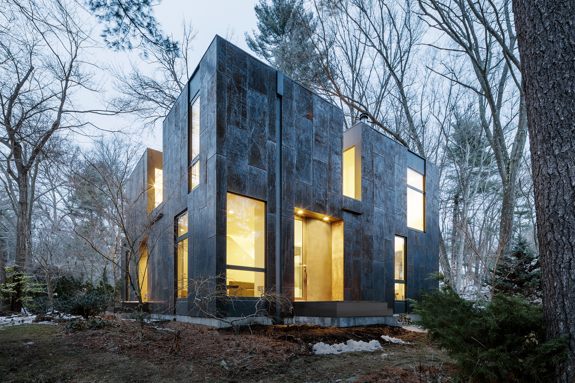 A Trip Through 2016 S Tranquil Forest Homes Architect