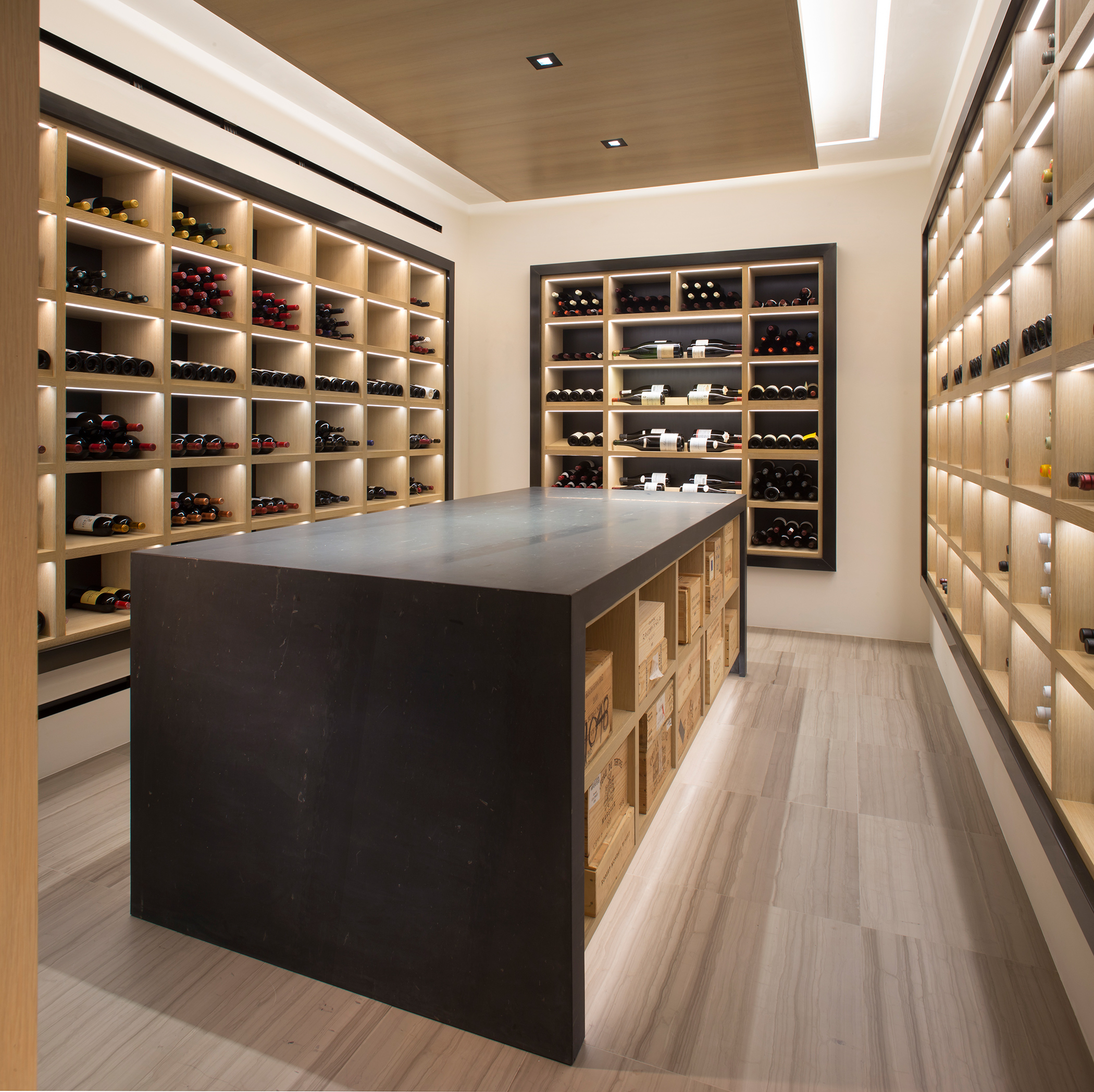 Modern Interior Design Review: Mountain Wine Cellar
