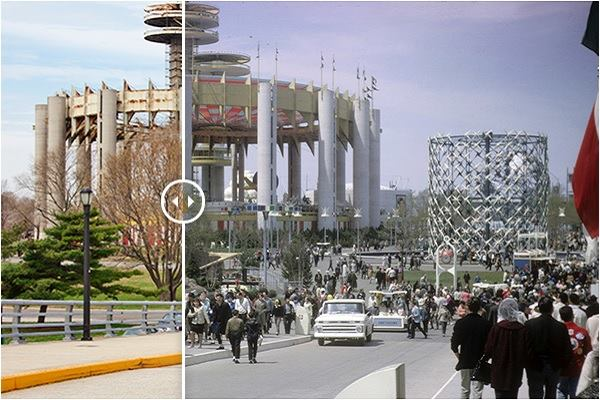Then And Now Photos Of Philip Johnson S 1964 World S Fair