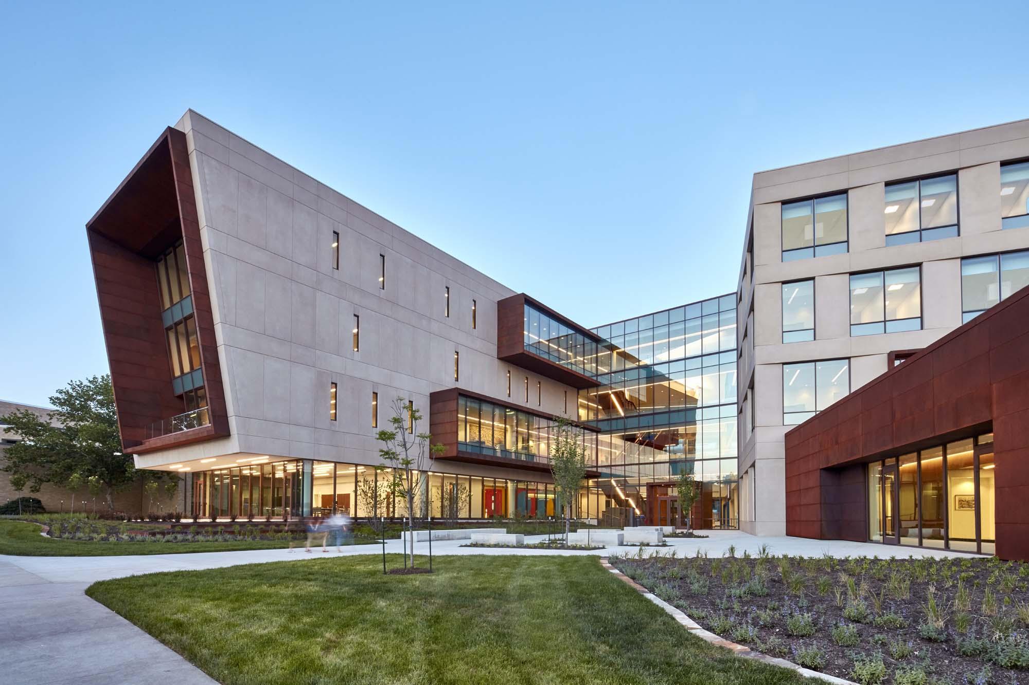 University of kansas capitol federal hall architect magazine gensler gastingerwalker for All american exterior solutions