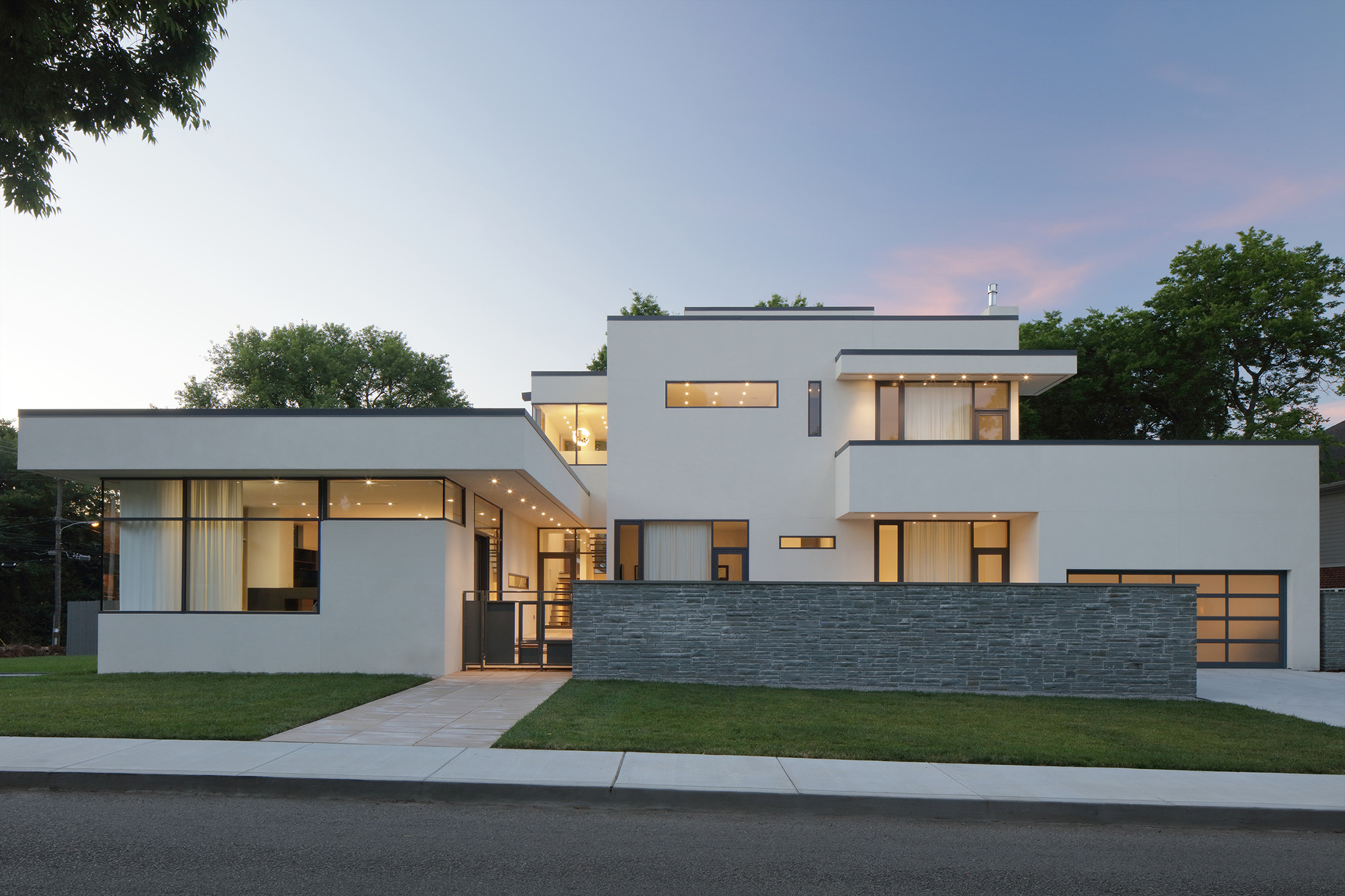 Hartley pavliska residence residential architect price for Harrison architects