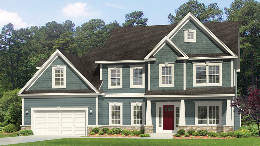 4 floor plans with really open kitchens builder magazine for Builder magazine house plans