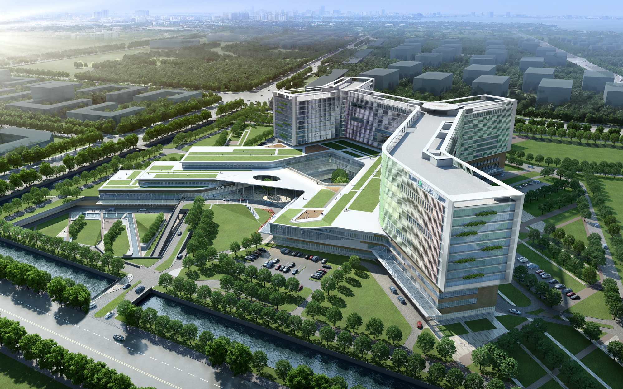 Nantong People S Hospital Architect Magazine Gresham Smith And Partners Nantong China