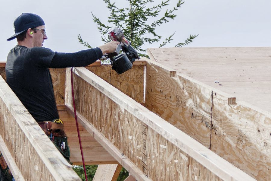 Framing A Roof With I Joists Jlc Online