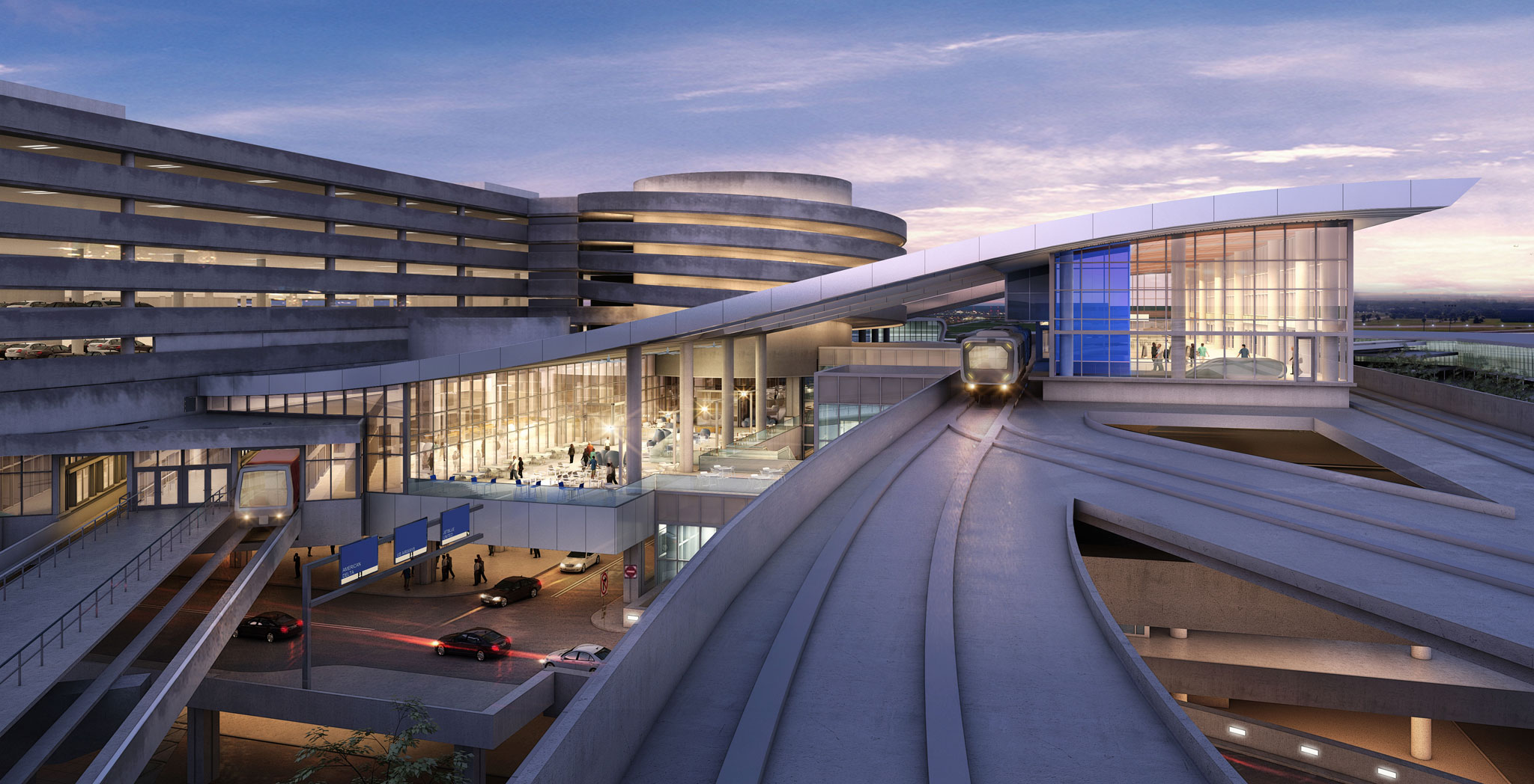 Top Ten Architects Tampa International Airport Consolidated Rental Car