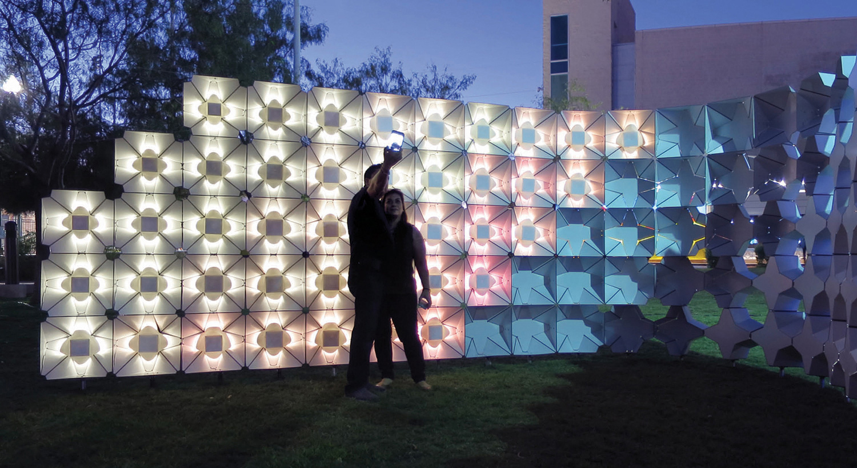 Selfie Wall Architect Magazine Agency El Paso Tx