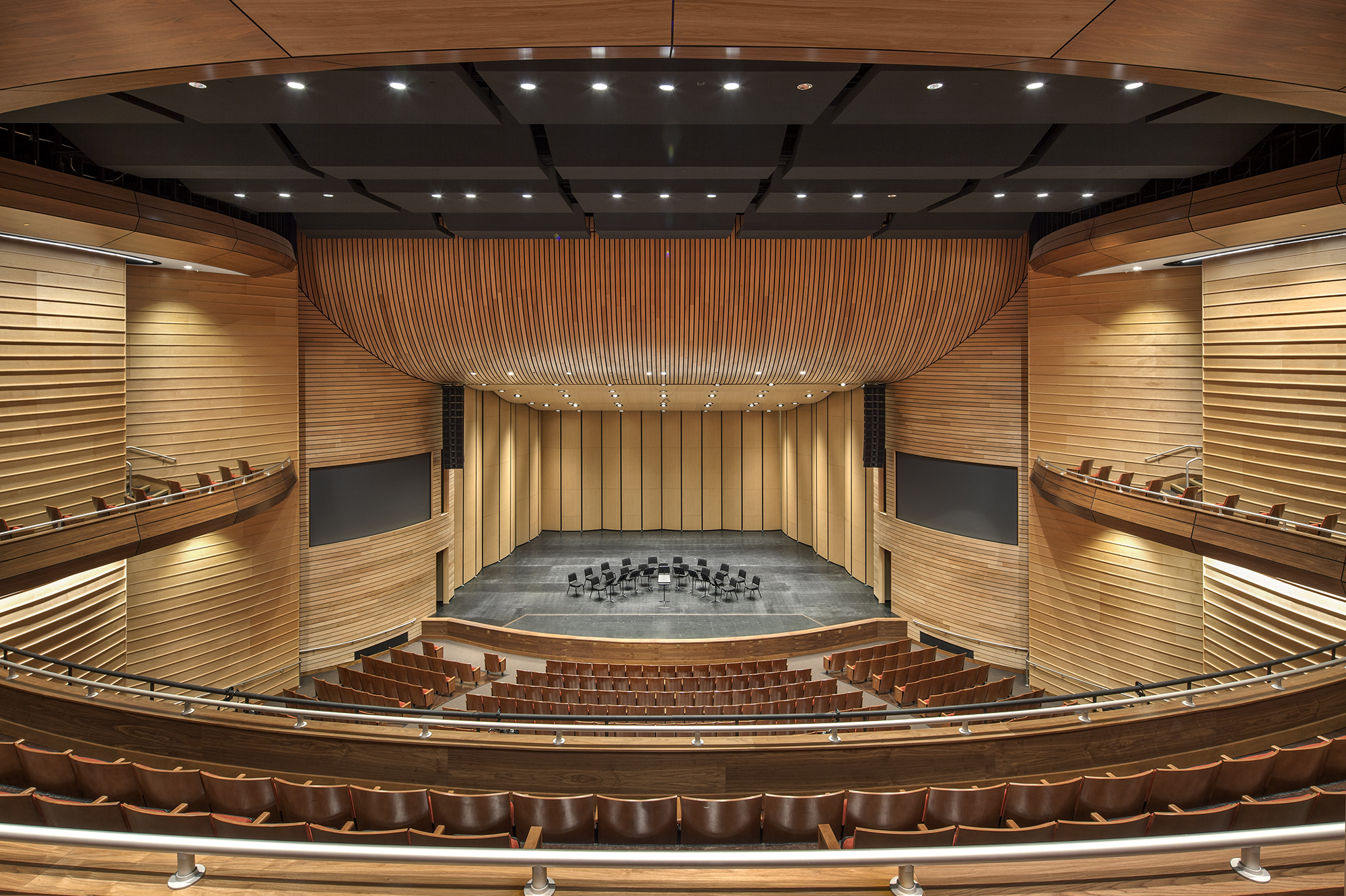 the majestic proscenium of the austin isd performing arts center architect magazine cultural. Black Bedroom Furniture Sets. Home Design Ideas