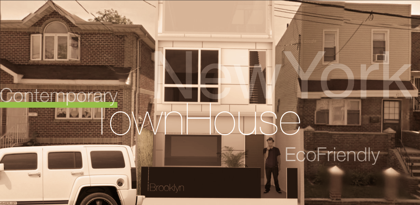 Townhouse 2 0 architect magazine scharly designer for Townhouse construction cost