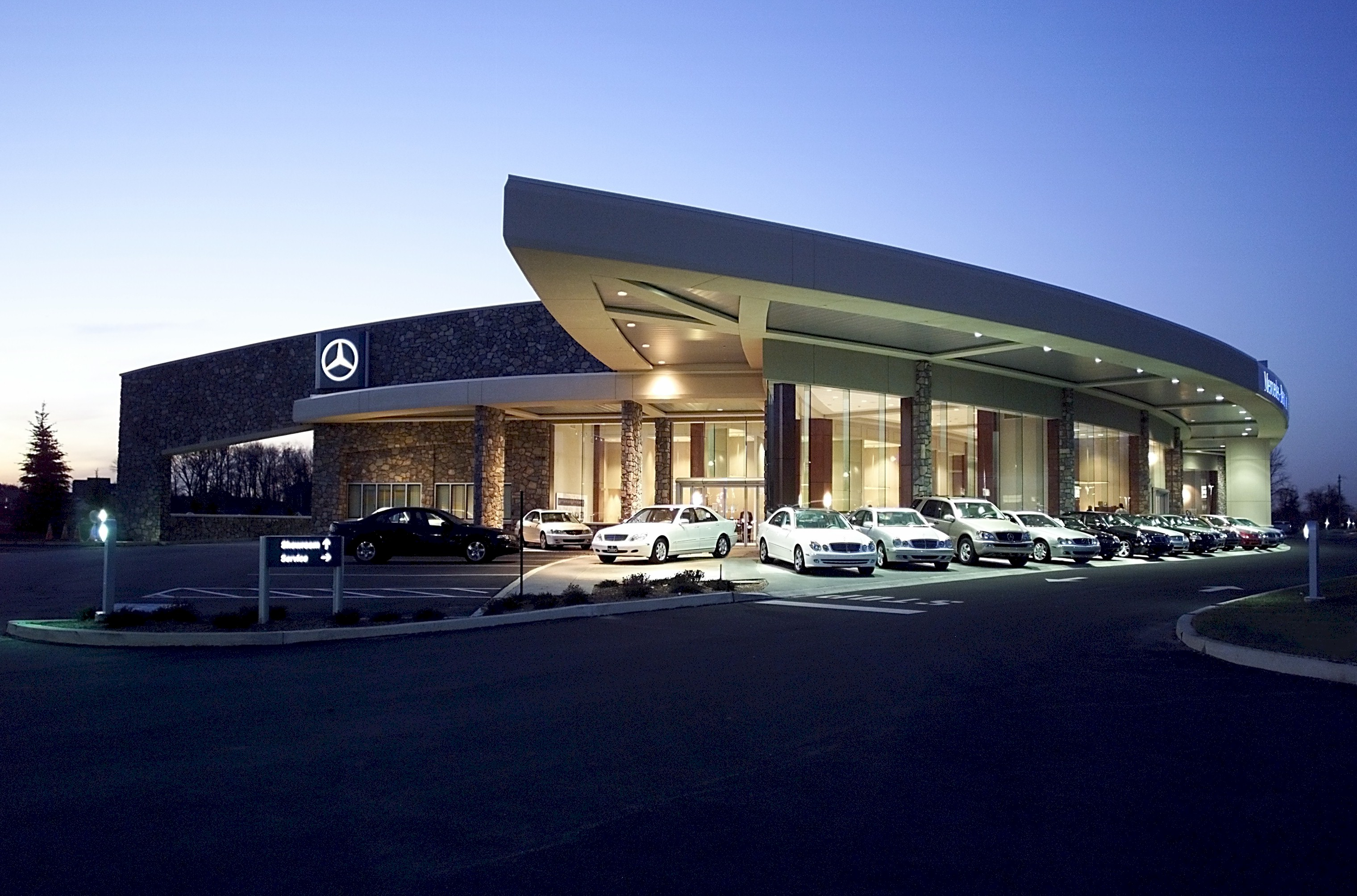 mercedes benz of west chester architect magazine dever