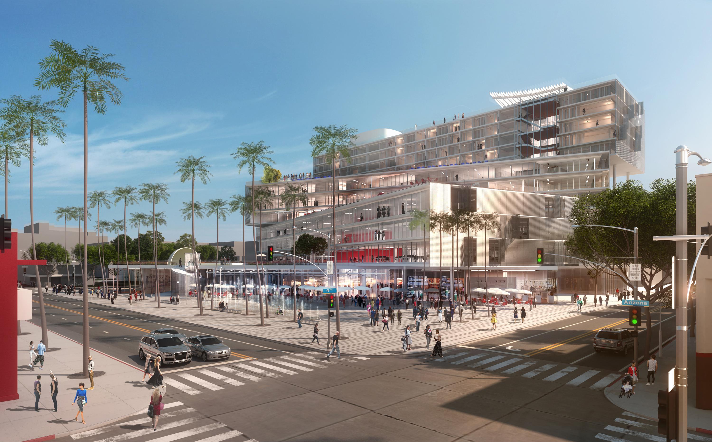 Santa monica development residential architect office - Office for metropolitan architecture oma ...