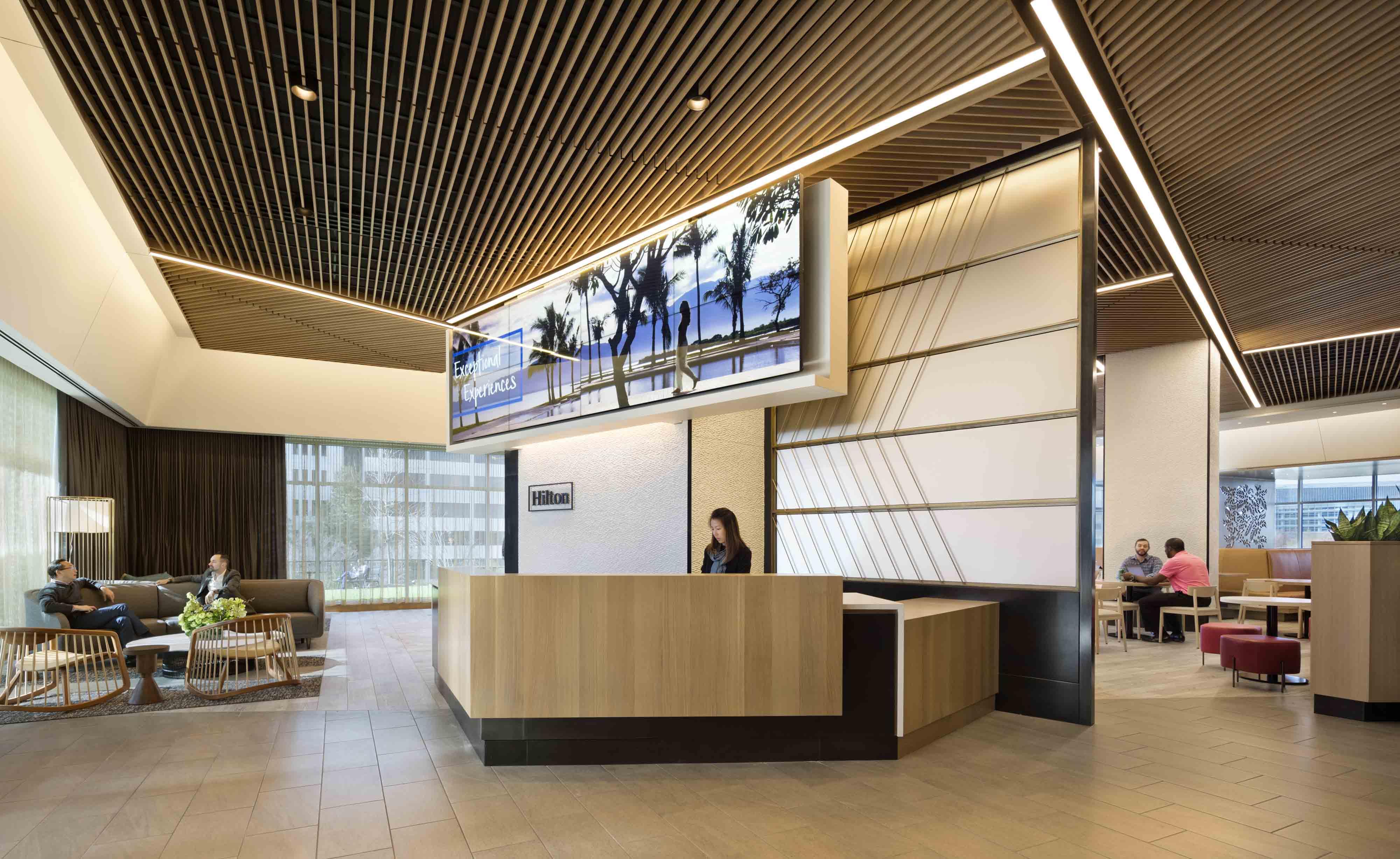 Hilton headquarters the social architect magazine - Commercial van interiors locations ...