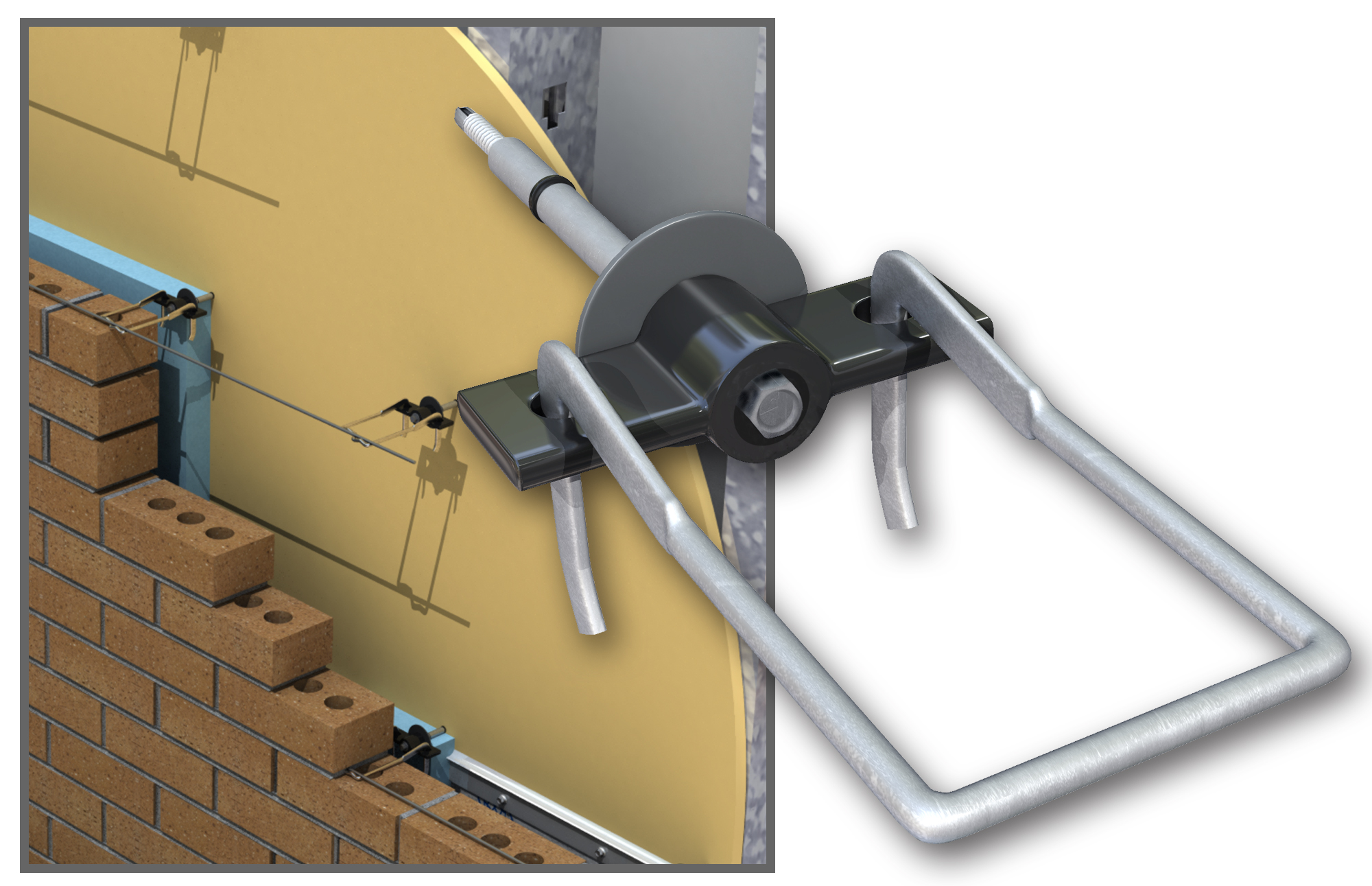 Thermal 2 Seal Wing Nut Anchor Remodeling