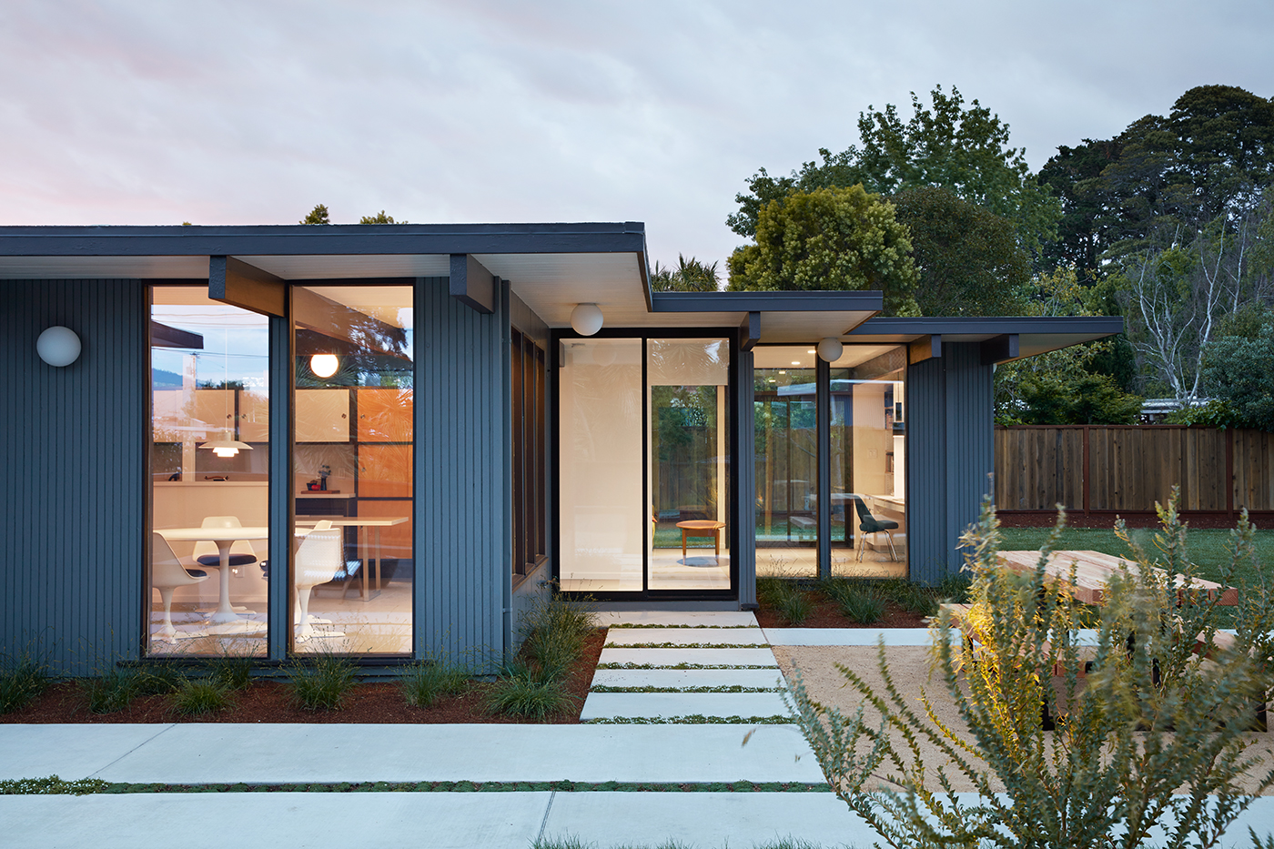 Mid Mod Eichler Addition Remodel By Klopf Architecture