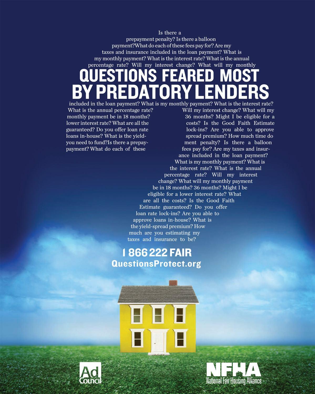 Hud Tackles Predatory Lending Builder Magazine
