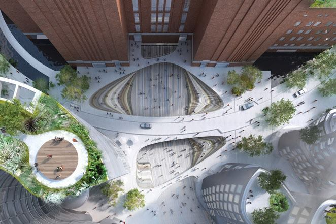 Big Reveals First Renderings For Public Square At London S