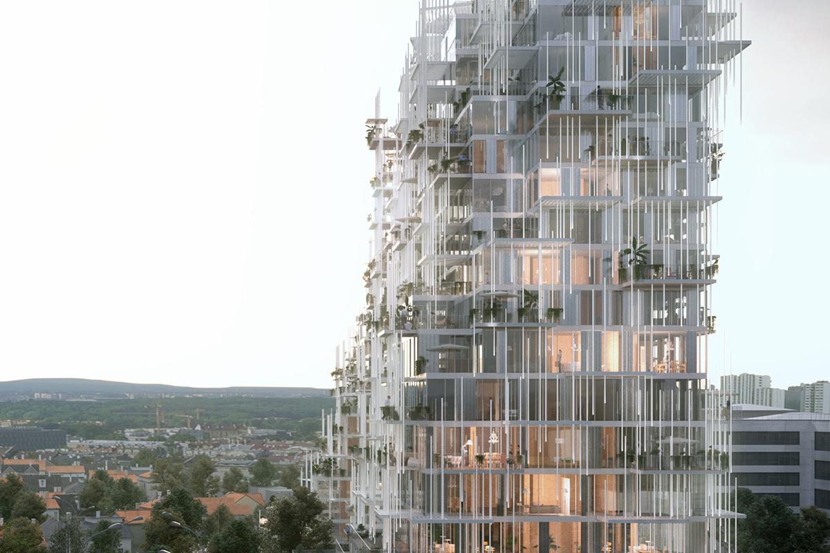 Vertical Village Architect Magazine Sou Fujimoto