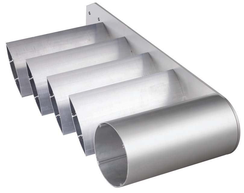 Aluminum Sunscreen System From Firestone Metal Products