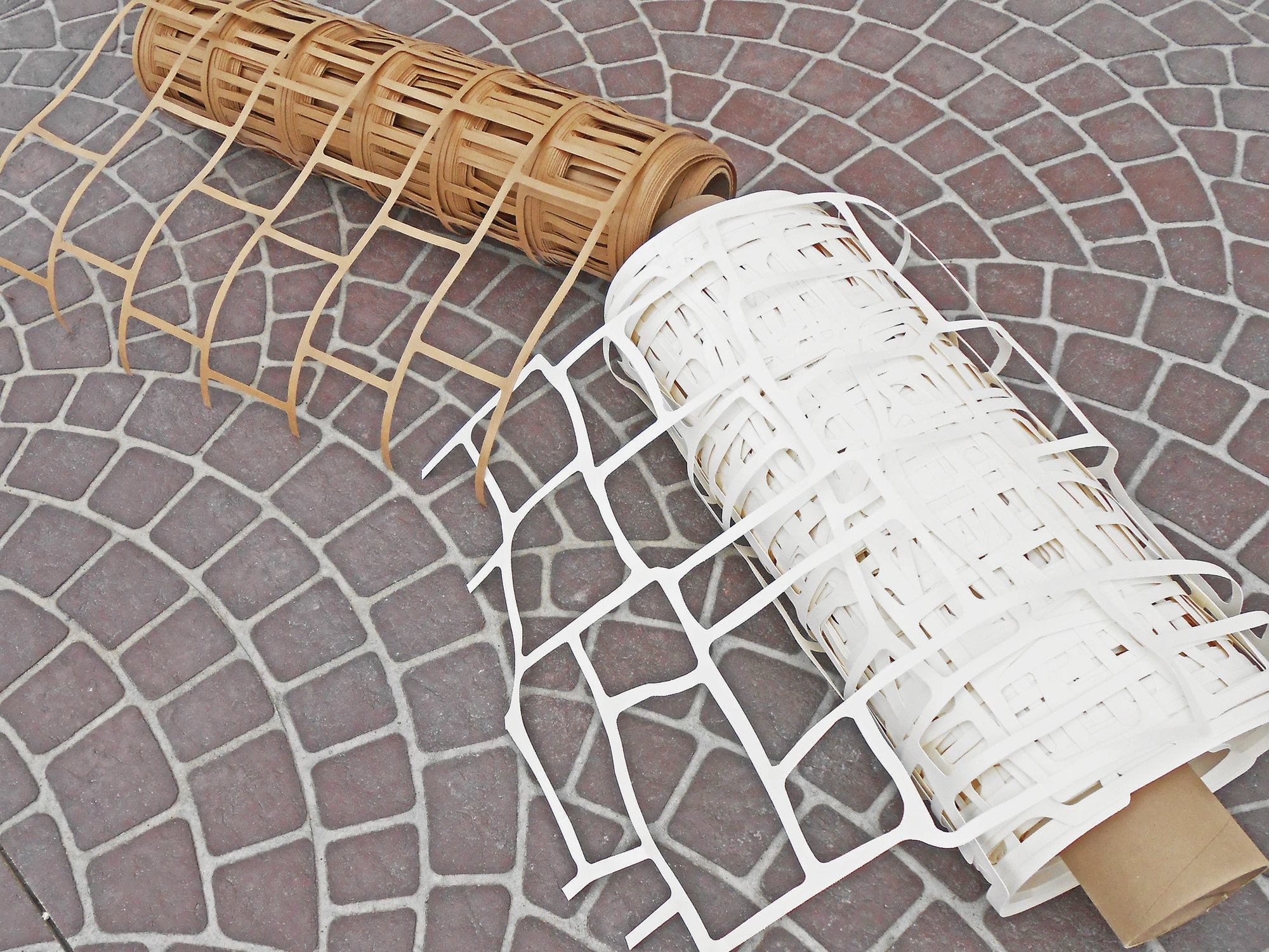 Stenciling Fresh Concrete Concrete Construction Magazine