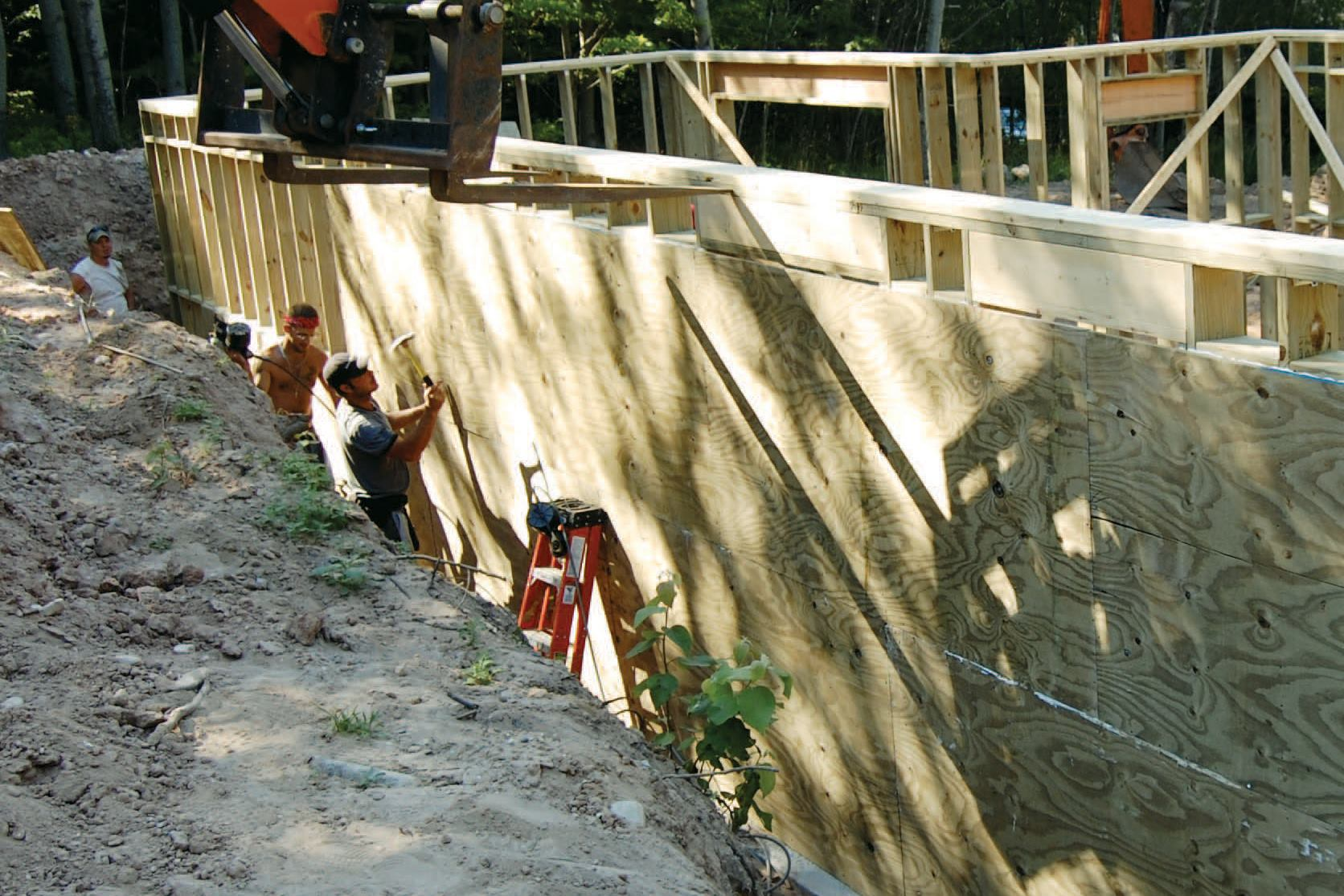 Permanent Wood Foundations | JLC Online | Basement, Foundation, Framing,  Insulation, Lumber, Wood, Casework