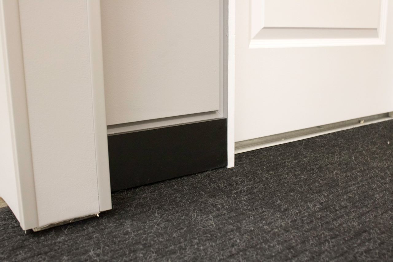Elegant Baseboard With Architectural Z Shadow Bead JLC
