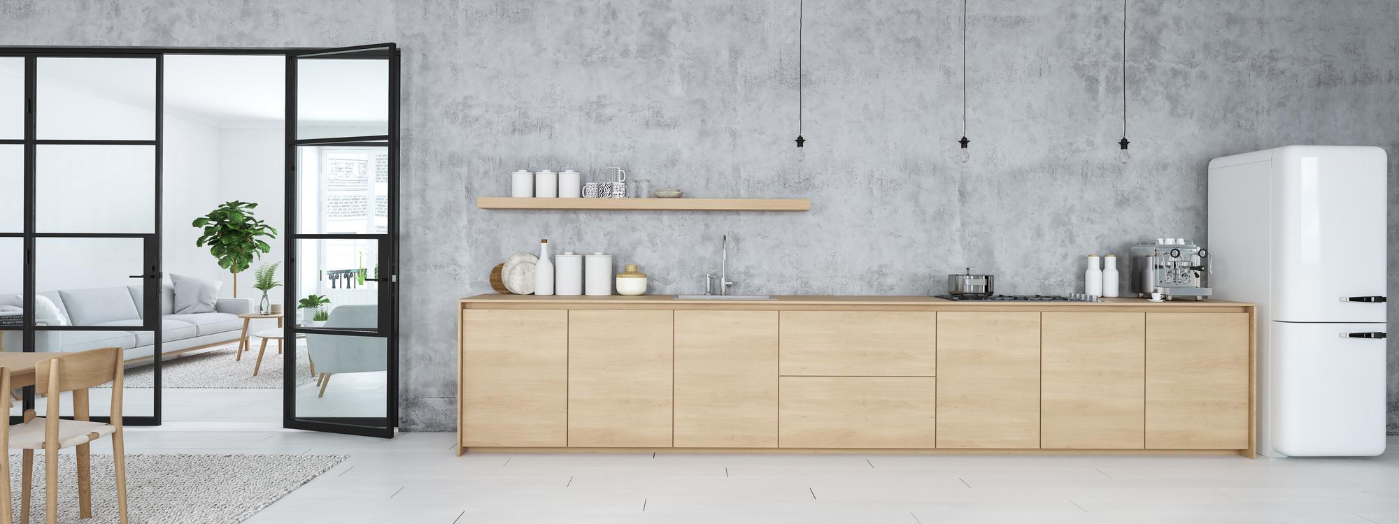 Four Ways to Use Concrete in Kitchens | Builder Magazine