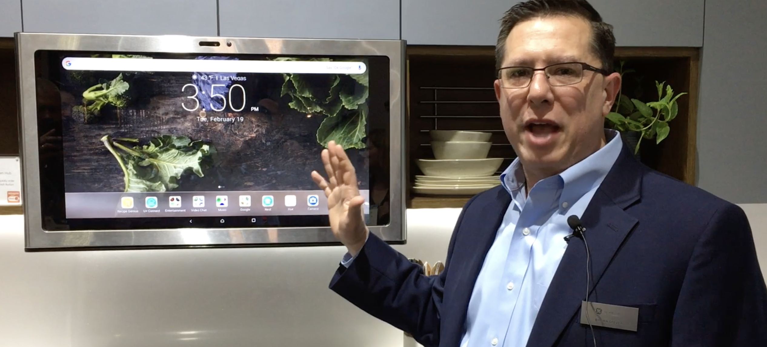 Ibs 2019 Ge Appliances Launches Kitchen Hub Smart Home Command