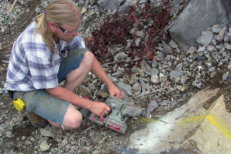 Rock Breaking With Micro Blaster Jlc Online Jobsite