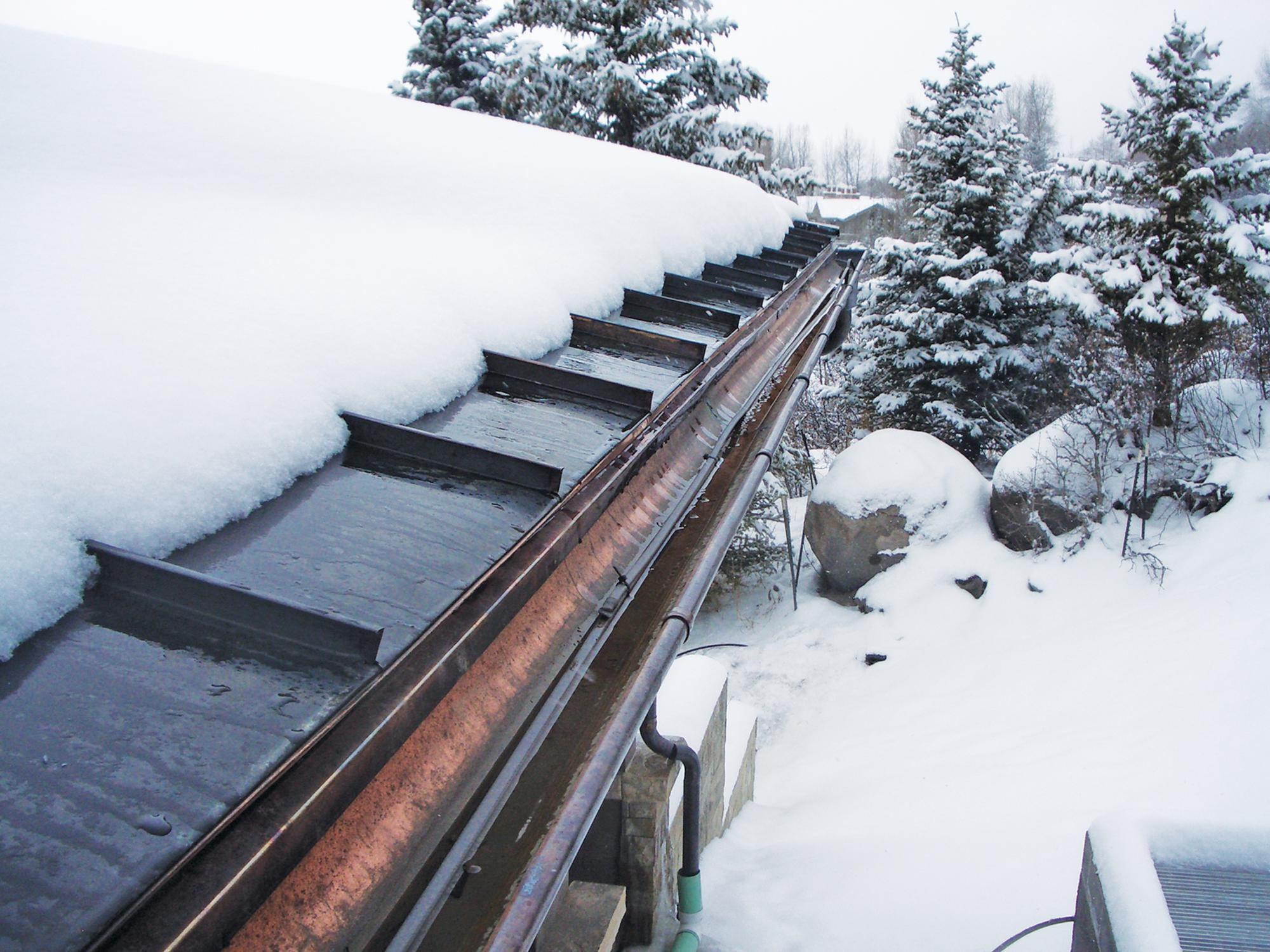 Hot Edge Roof Ice Melt System Architect Magazine