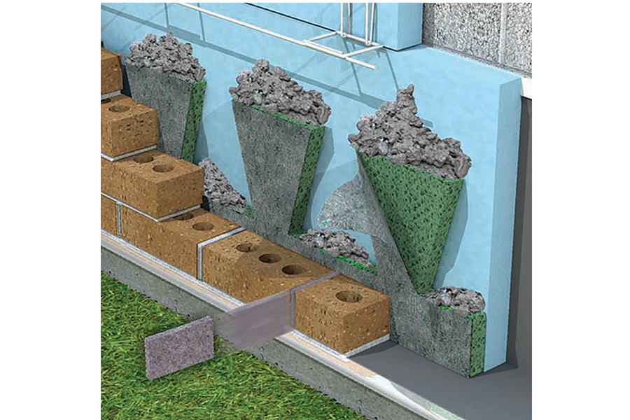 Mortar Net Weep Vents Concrete Construction Magazine