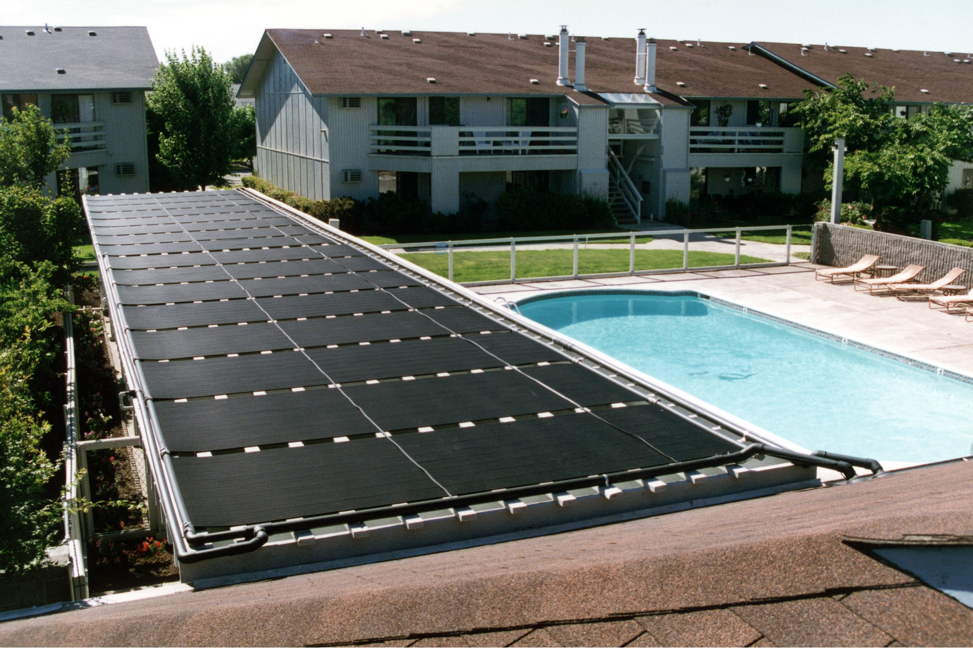 The first solar heating standard for pools and spa is here aquatics international magazine for Solar heaters for swimming pools