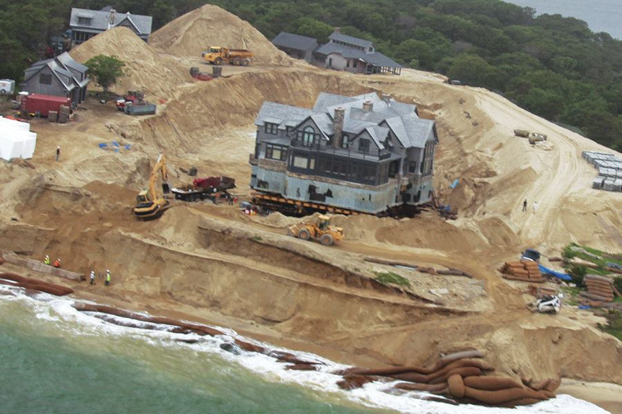 House Move Saving A Luxury Home From Beach Erosion Jlc