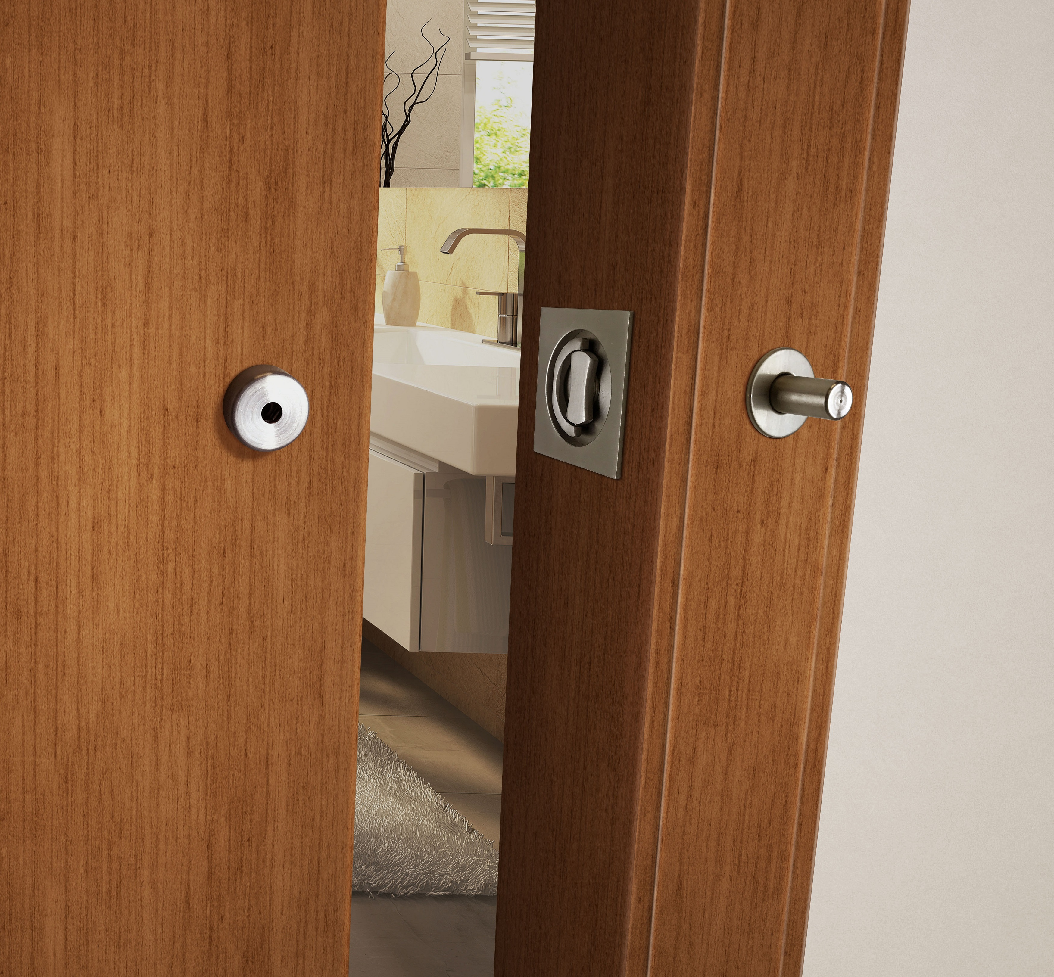 INOX Brand Offers Two New Flush Trim Options for Privacy