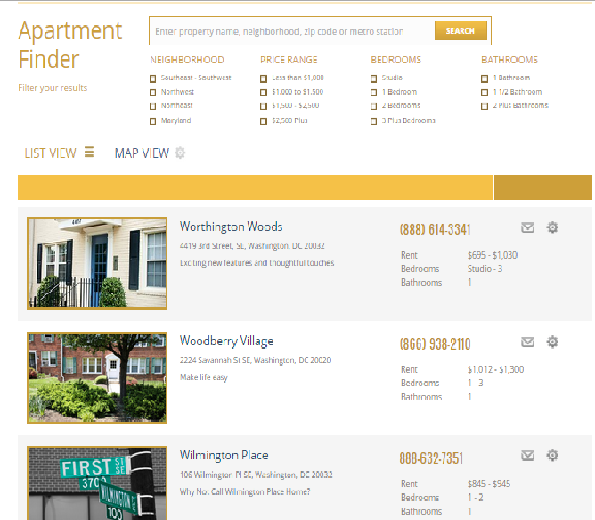 Best Apartment Hunting Websites: WordPress Plug-In Aims For Easy Listing