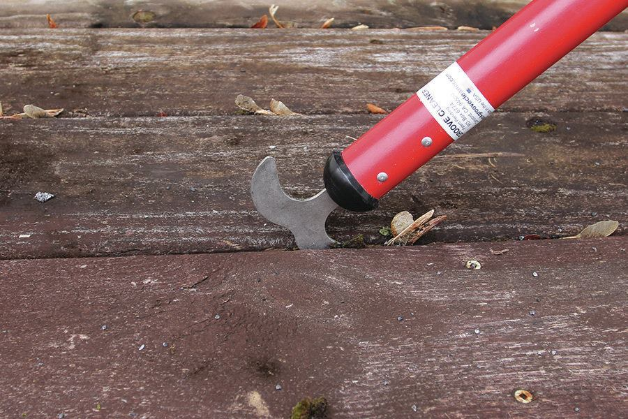 Deck Groove Cleaner | Professional Deck Builder